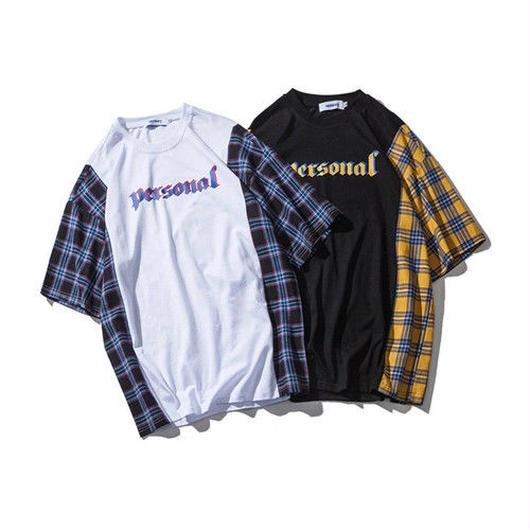 [売れ筋]personalデザインTシャツ 2カラー