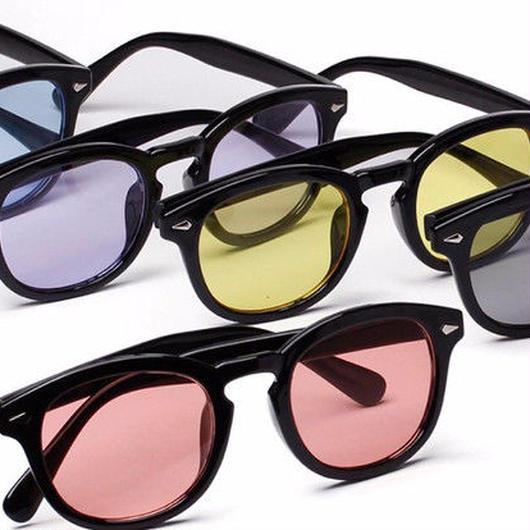 [売り切れ間近]カラーレンズサングラス 6カラー