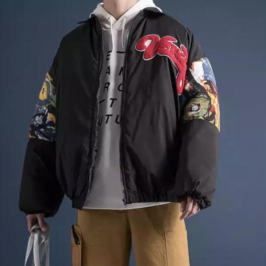 【売れ筋】oioiボンバージャケット 2カラー