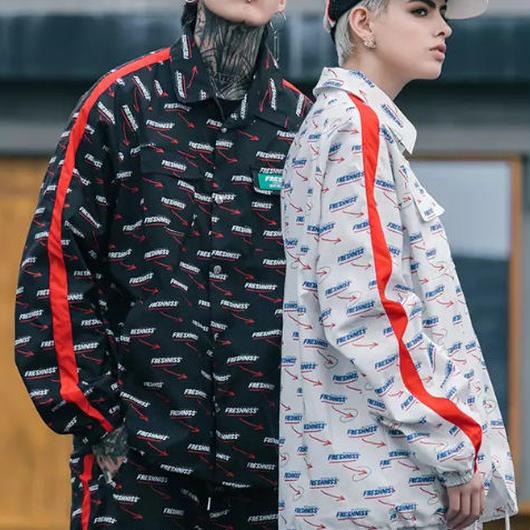 【STREET】FRESHISSデザインジャケット 2カラー