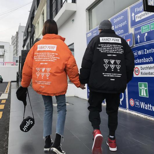 【STREET】NANCYデザインジャケット 2カラー