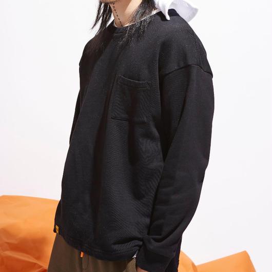 【STREET】ポケットデザインスウェット 4カラー