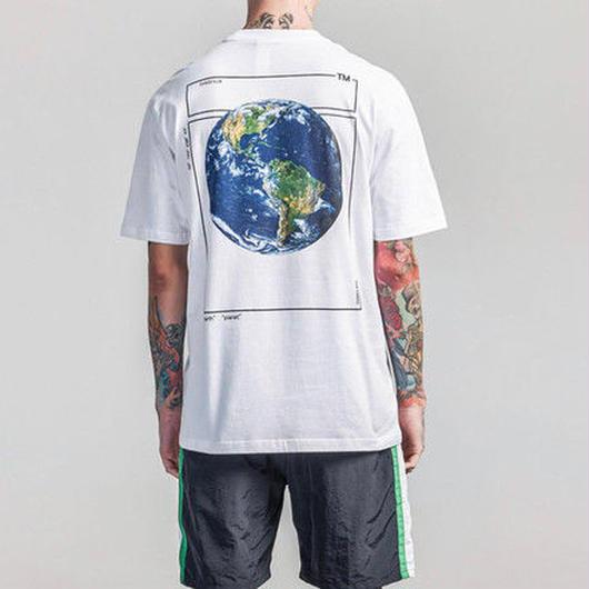 [売り切れ間近]アースデザインビックTシャツ 3カラー