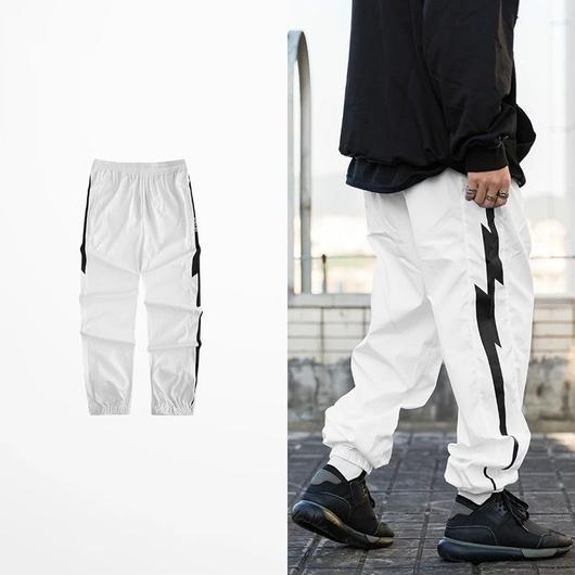 【DOPE】サンダーラインデザインラフパンツ 2カラー