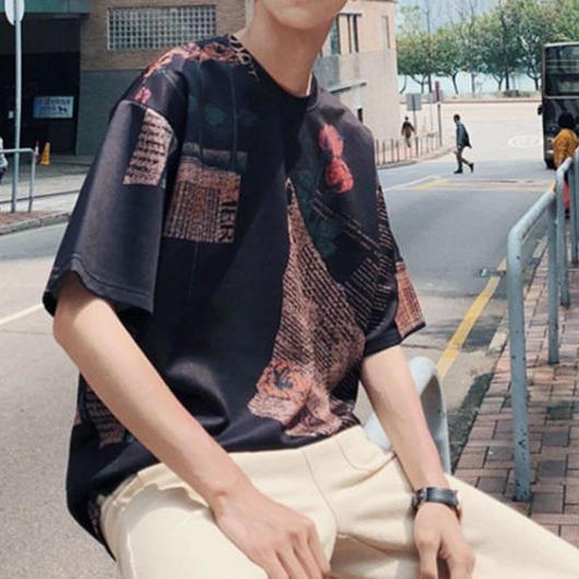 【COOL】レターデザインTシャツ 3カラー