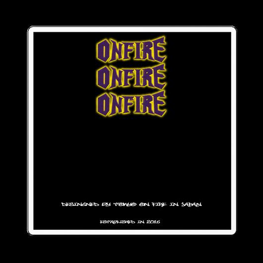 【12月中旬発売】ONFIREボックスデザインステッカー