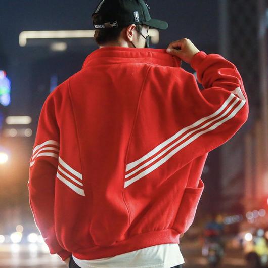 【大人気】3ラインデザインジャケット 3カラー