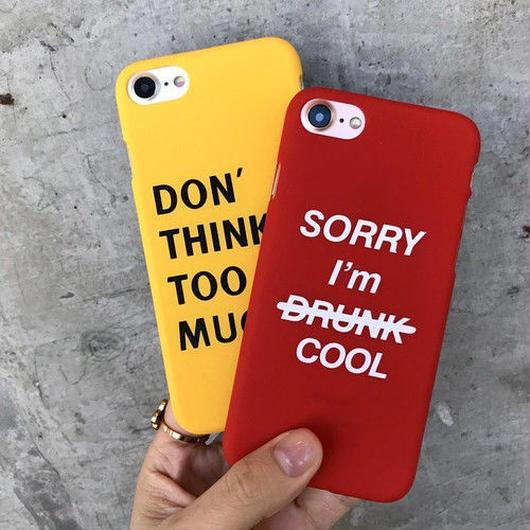 [大人気]スラッグデザインアイフォンケース 2カラー