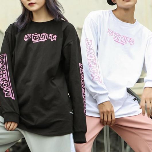 【GOOD】宇宙デザインロングTシャツ 2カラー