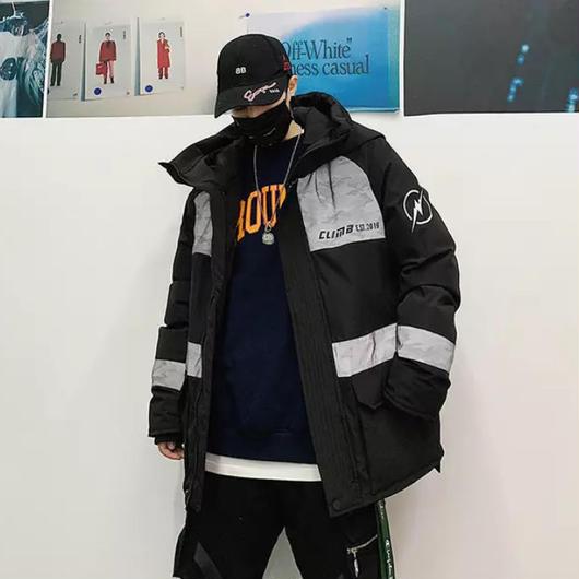 【DOPE】OPENINGフードコート 2カラー