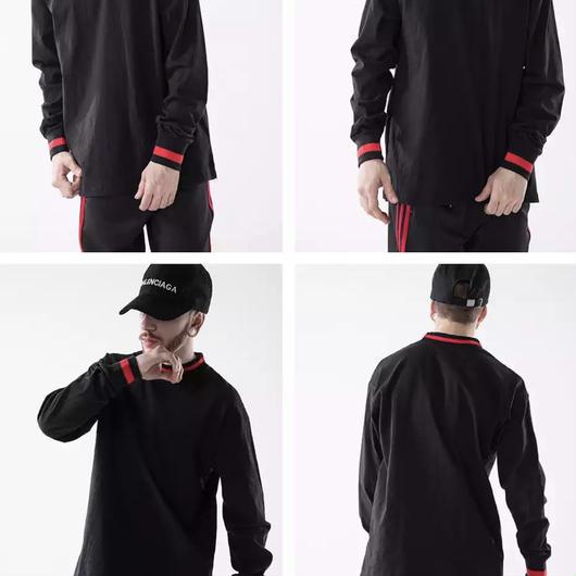 【大人気】レッドラインロングTシャツ 2カラー