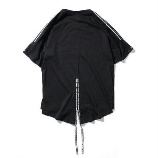 [NEW]ロング丈紐付きTシャツ