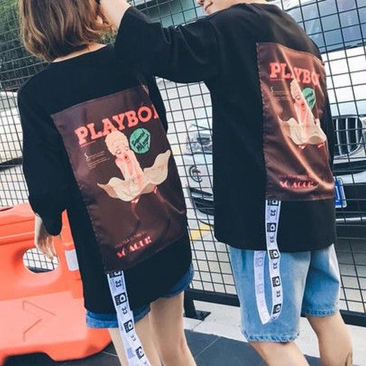 【HOT】PLAYBOIデザインTシャツ