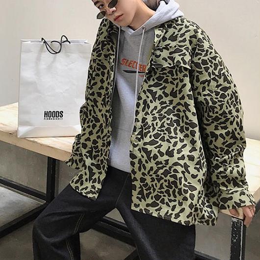 【STREET】カモデザインジャケット