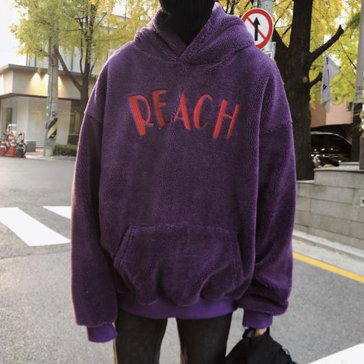 【2018AW】REACHデザインフーディー 3カラー