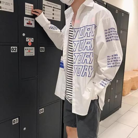 【GOOD】TORYデザインシャツ