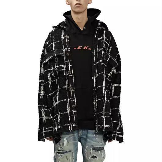 【STREET】オレオカラーフランネルジャケット