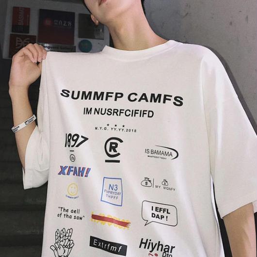 【売れ筋】SUMMFPデザインTシャツ 3カラー