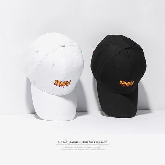 [売れ筋]SAMPLEデザインキャップ 2カラー