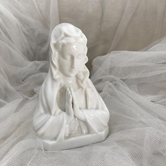 陶器マリア像