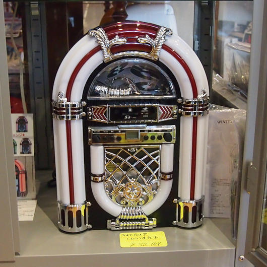 JUKE BOX型CDラジオプレーヤー