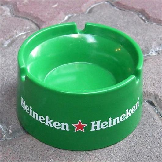 """ノベルティ灰皿 """"Heineken"""""""
