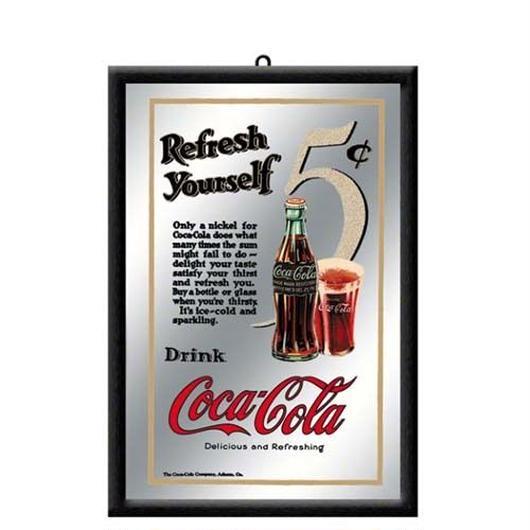 パブミラー【Coke Refresh Yourself】
