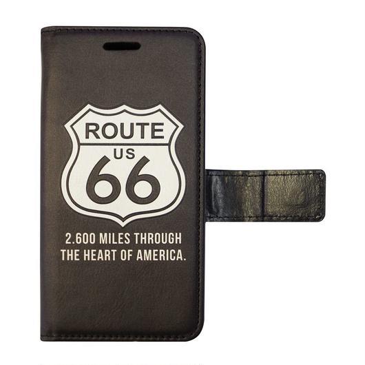 "【iPhone7/8専用】フリップケース""ROUTE66"""