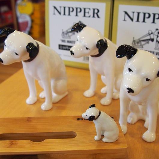 ビクター犬 ニッパー 陶器フィギュア 13cm