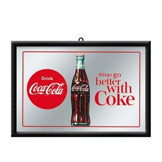 パブミラー【Better with Coke】