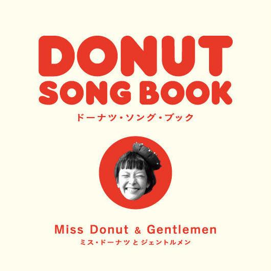 """Miss Donut & Gentlemen / DONUT SONG BOOK (7"""" Vinyl+booklet / 2015)"""