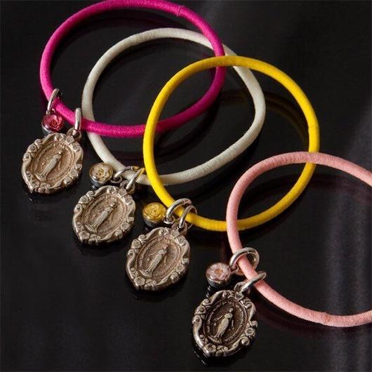 """visceral""Viburnum Maria Hair Bracelet"