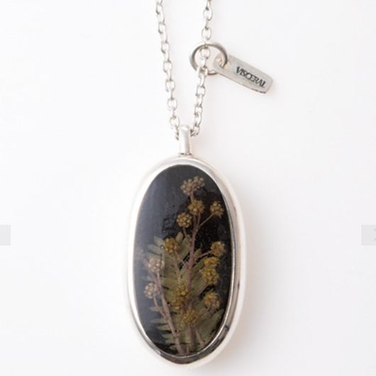 新作!送料無料Herbarium Necklace・Black