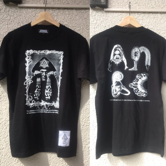 anarc  A.A CROWLEY Tシャツ