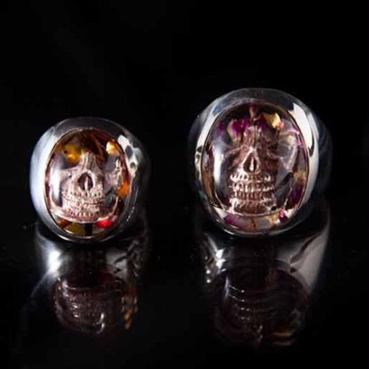 Flower Skull Ring(S)