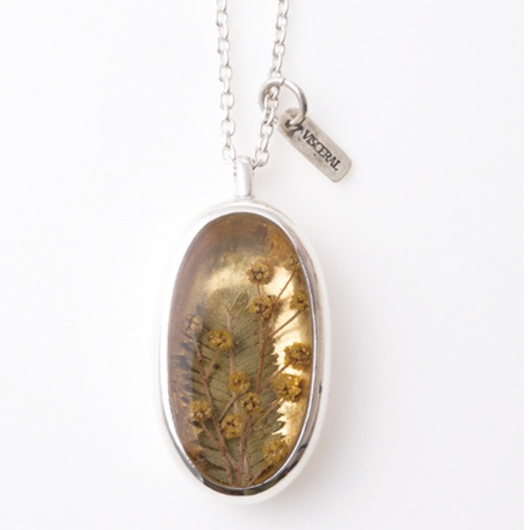 新作!送料無料Herbarium Necklace ・18K Gold・