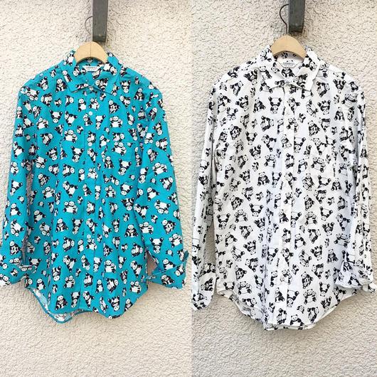 パンダ柄シャツ