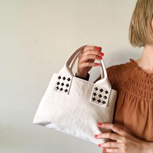 canvas tote bag mini (white)