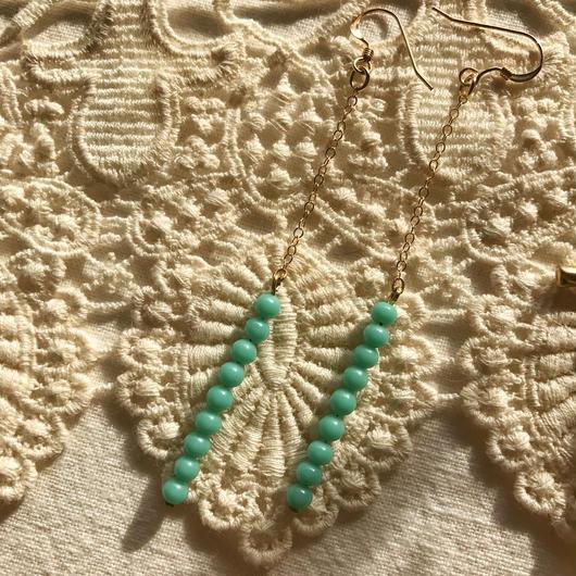 vintage glass pierce