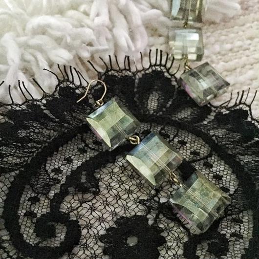 grass beads pierce