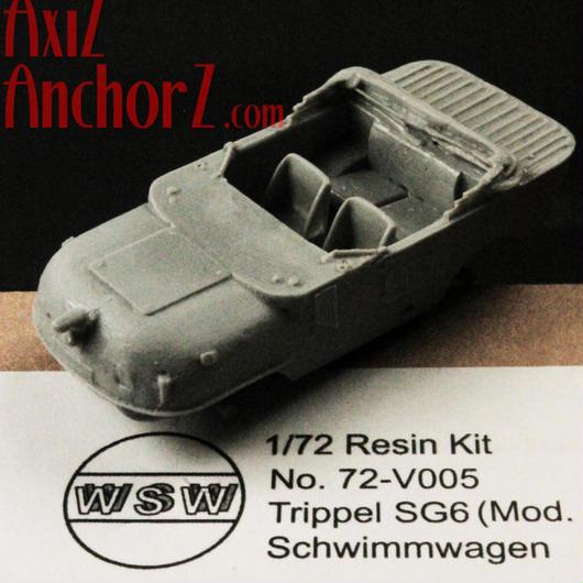 「トリッペルSG6」 1/72 WSW-Modellbau