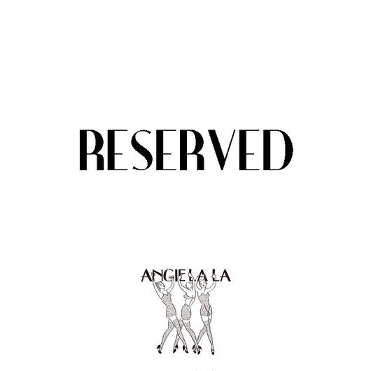 Reserved item