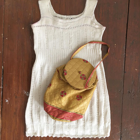 Early 20th c. knit dress top