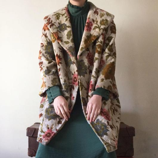 1960s / 1970s tapestry coat