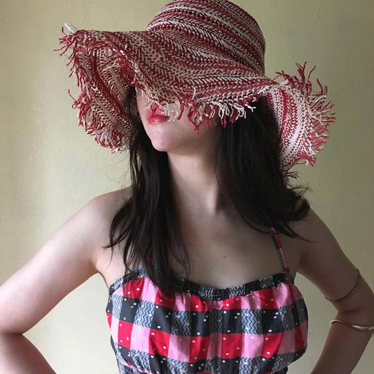 1970s summer hat