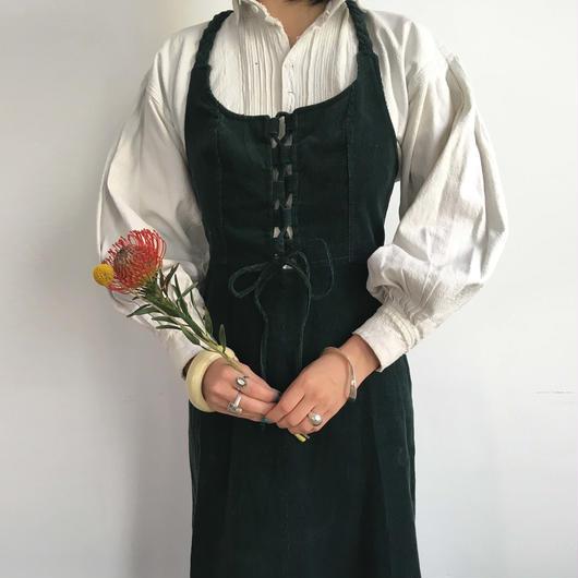 circa 1970s corduroy dress