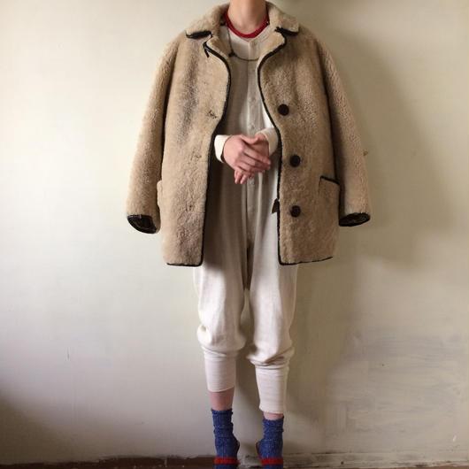 1960s sheepskin jacket coat