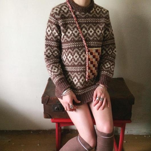 1970s knit jumper