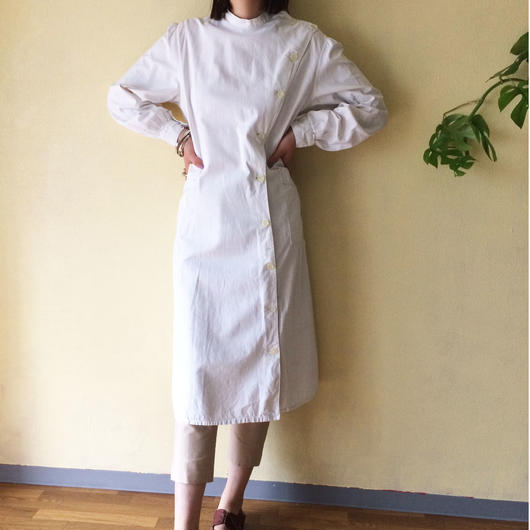 mid 20th c. French robe dress