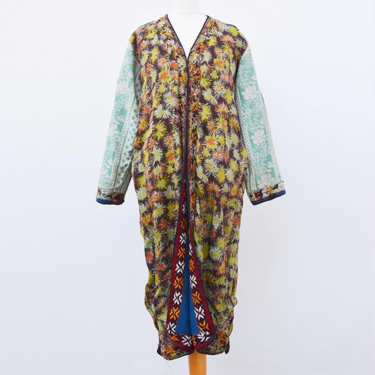 Vintage Mid 20th c. Afghan / Turkmen Wooly robe